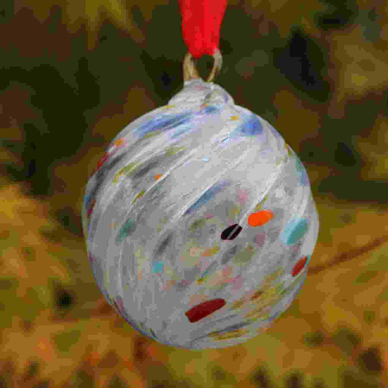 Christmas Ornaments Blown Glass