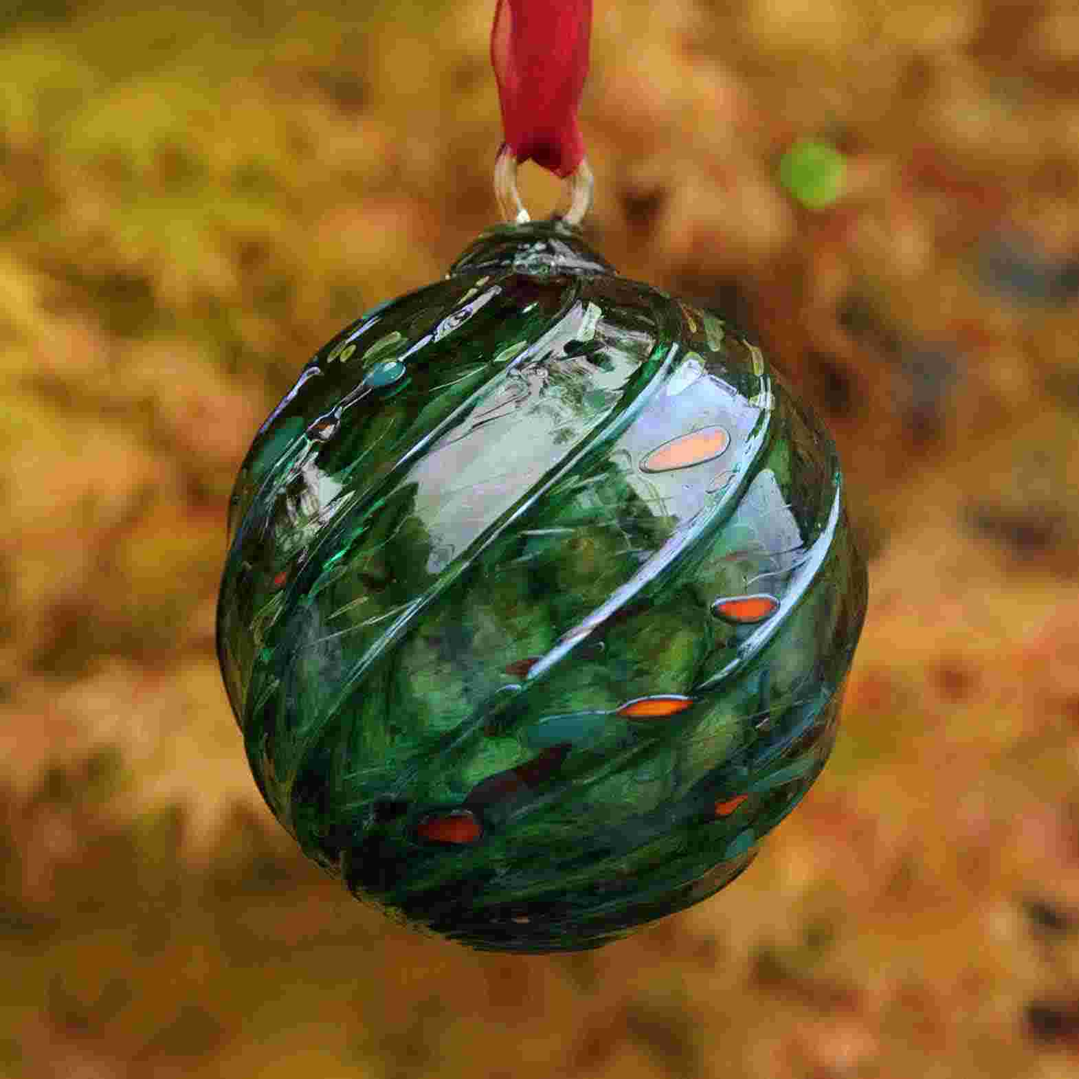 exclusive hand blown ornaments - Blown Glass Christmas Ornaments